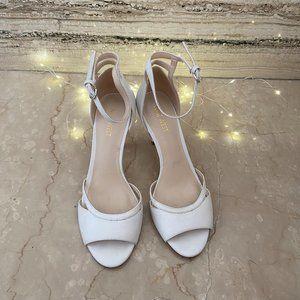 Nine West Heels White Size 39 (New)